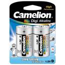 2x LR20 / Mono, battery Digi Alkaline