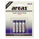 4x LR03 / AAA / Micro / 1.5V, battery Alkaline