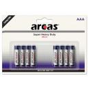 8x LR03 / AAA / Micro / 1,5 V (4 + 4), la batería