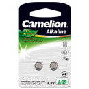 2x AG 9 / LR45 / LR936 / 394, button cell Alkaline