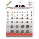 24x AG Alkaline + CR Lithium button cell set 24par