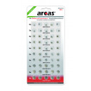 50x AG 0% HG  Button cell set 50part, button cell