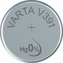 V 391 (Typical capacity: 40mAh), button cell