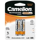 2x HR6 / Mignon / 2300mAh / 1.2V, Ni-MH rechargeab