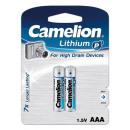 2x FR03 / AAA, batería de litio