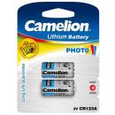 2x CR123A / 3 volt, battery camera special