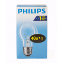 Light bulb / bulb shape / E27 / 40W / clear
