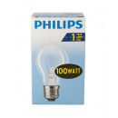 Bulb / bulb shape / E27 / 100W / clear