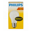 grossiste Ampoules: Tungstène / forme  de poire / E27 / 100W / mat