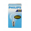 Light bulb / drop shape / E14 / 40W / clear