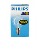 Light bulb / drop shape / E14 / 60W / clear