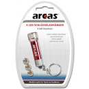 wholesale Gifts & Stationery: ARC-3 LED key holder / 3 x LED