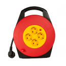 Cable drum 5 meters / with 4-way distributor / Sec