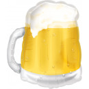 SuperShape beer mug foil balloon loose