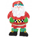 AirWalker Whimsical Santa Foil Balloon Packed