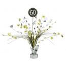 Table decoration 60 Sparkling Celebration - Silver