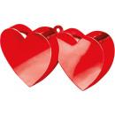 Balloon Súly Szív vörös 170 g / 6 oz