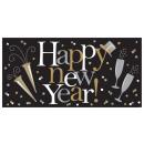 Óriás banner Happy New Year 165 x 80 cm
