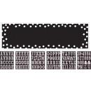 Signalbanner Birthday Accessories - Black & White