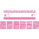 Signal banner Zuhany With love - Lány Personalize