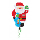 Standard Junior Shape Santa Foil Balloon Packed