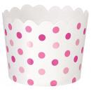36 Dessertbecher Paper Minis pink 6,1 x 6,1 x 4,4c