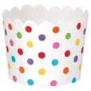 36 Dessertbecher Paper Minis regenbogenfarben 6,1