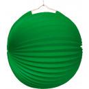 Lámpás zöld. lángálló 25 cm
