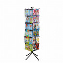 spinner - Display 48 supports 51 x 51 x 183 cm