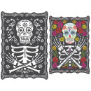 wholesale Pictures & Frames: Lenticular image Day of the Dead 45 x 30 cm