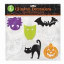wholesale Pictures & Frames: 7-part window decoration Halloween 6-10 cm