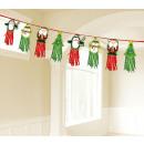 Tassel garland Karácsonyi karakterek 2,4 m