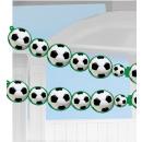 Girlande Garland Championship Soccer Papier 243 x