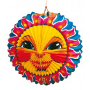 Lampion Sun 25 cm hardly inflammable