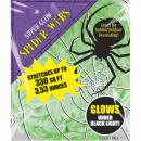 Großhandel Scherzartikel: Spinnennetz Halloween grün