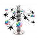 Mini asztali dekoráció Disco Fever 70's 19 cm