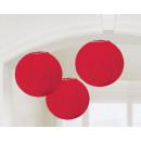 3 lámpa piros 20,4 cm