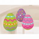 3 linterna huevos de Pascua 24 cm