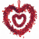 Świecidełko ozdobne serce 30 cm