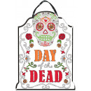 Deco Shield Day of the Dead Glitter Font MDF 40,