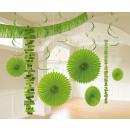 Deco világos zöld 18 darab