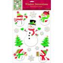 wholesale Pictures & Frames: 14 window pictures Snowman Christmas Vinyl 45 x 3