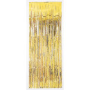 wholesale Curtains & Drapery: Door curtain gold metallic 240 x 91,4 cm