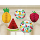 wholesale Party Items: 5 hanging decorations Hello summer