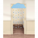 wholesale Curtains & Drapery: Door curtain Oh Baby Boy paper 190.5 x 96.5 cm
