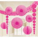 Deco roze gezet