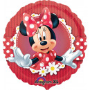 Standard Crazy Minnie Foil Balloon Pack