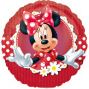 9 'crazy about Minnie foil balloon loose 23 cm