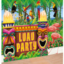 Jumbo party deco Hawaiian