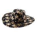 Chapeau de cowboy crâne
